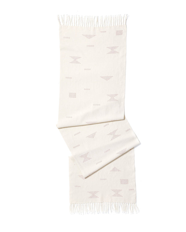 Minna Shapes Runner Pink Kitchen Textiles Minna