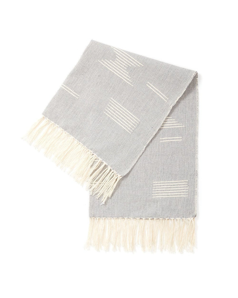 Minna Shapes Towel Grey Kitchen Textiles Minna
