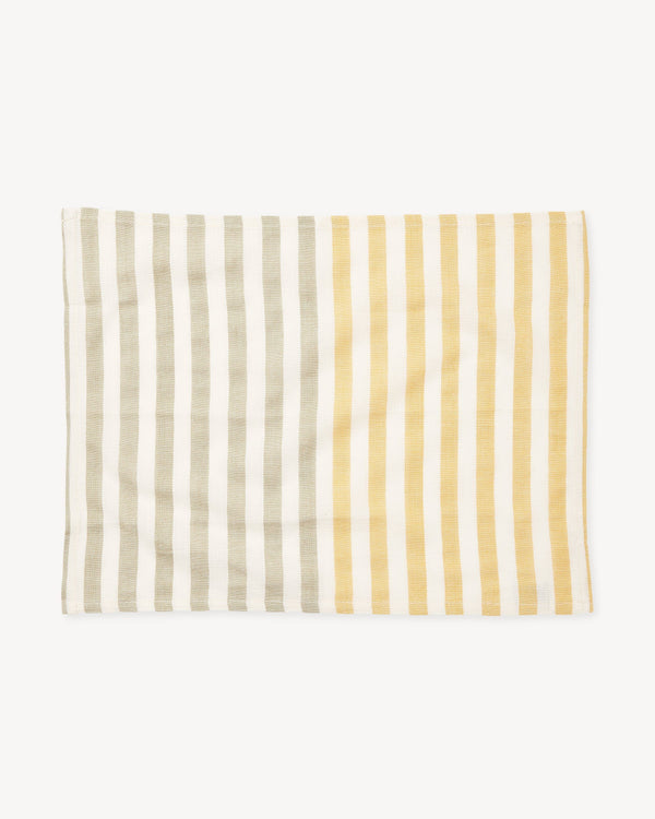 Minna Stripe Placemat - Dandelion Kitchen Textiles Minna