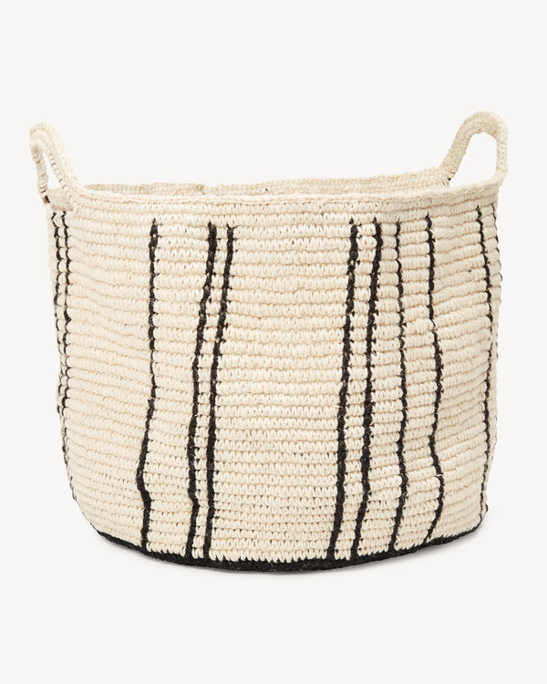 Minna Stripes Basket - Large Basket Minna