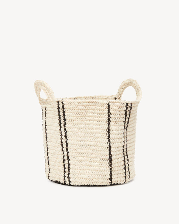 Minna Stripes Basket - Medium Basket Minna