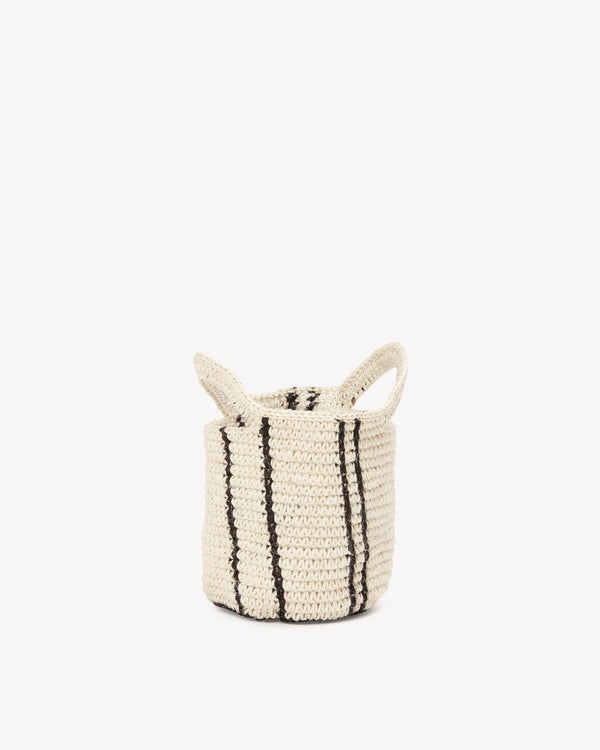 Minna Stripes Basket - Small Basket Minna