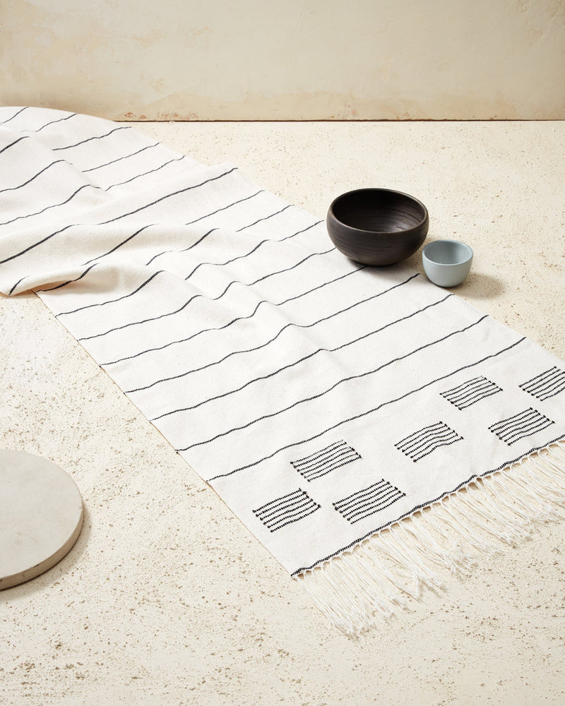 Stripes & Blocks Table Runner