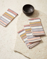 Minna Sunrise Stripe Napkins-5011119472703