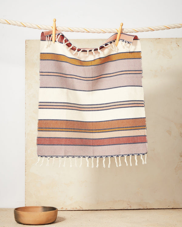 Minna Sunrise Stripe Towel Kitchen Textiles Minna