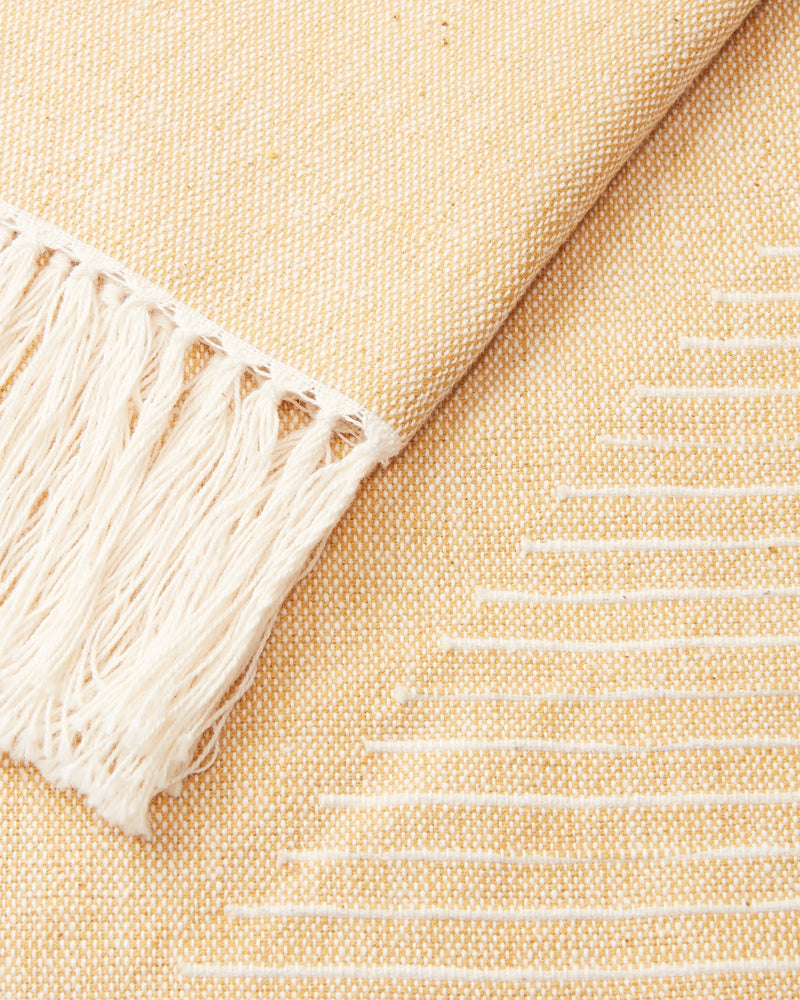 Minna Triangle Towel Yarrow