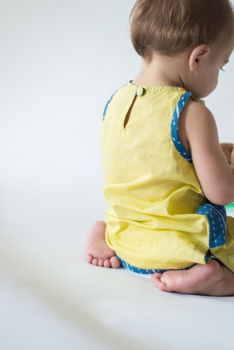 Mirasa Design Celery Dress | handmade | indigo clothing Mirasa Design