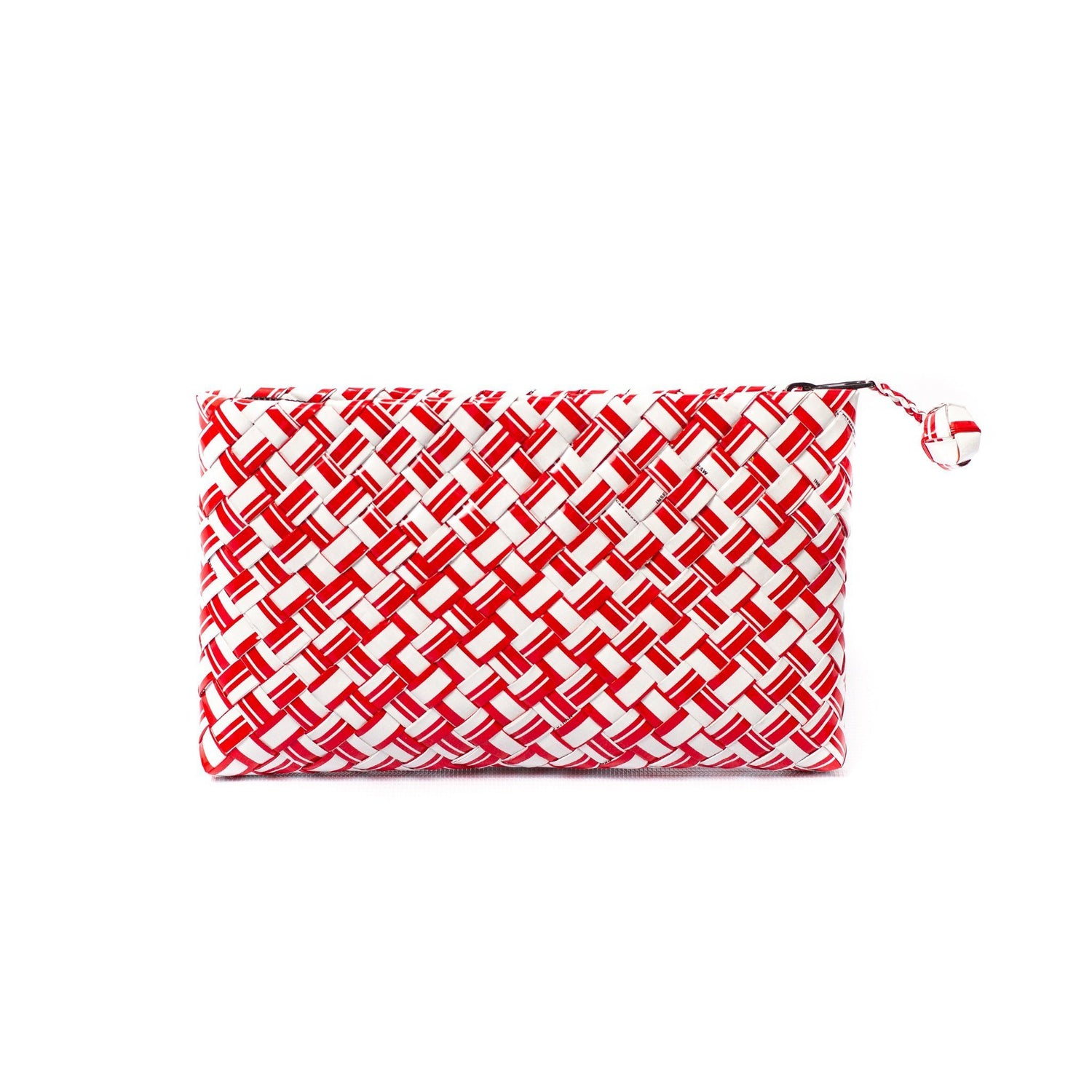 Mother Erth Limited Edition - Red Woven Clutch Bags Mother Erth