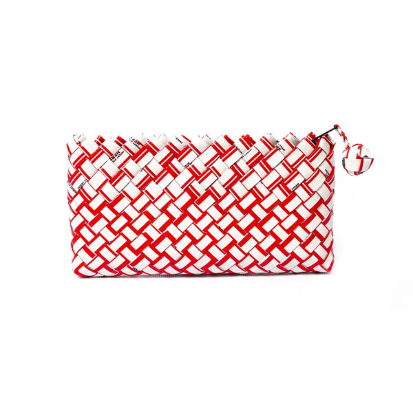 Mother Erth Limited Edition - Red Woven Mini Clutch Bags Mother Erth