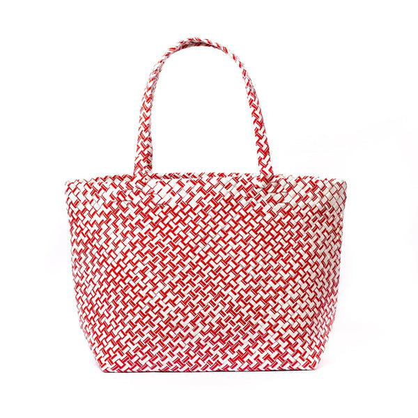 Mother Erth Limited Edition - Red Woven Tote Bags Mother Erth