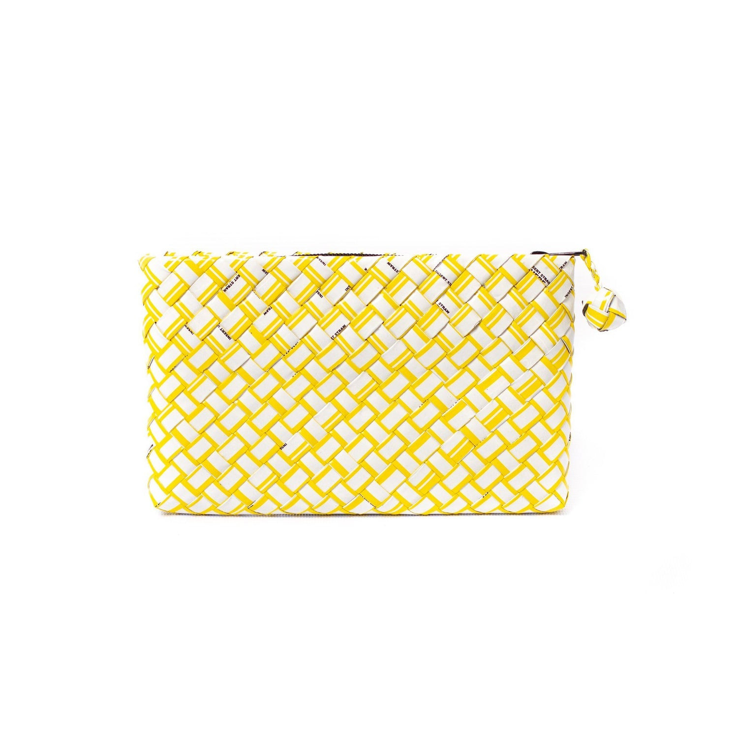 Mother Erth Limited Edition - Yellow Woven Clutch Bags Mother Erth