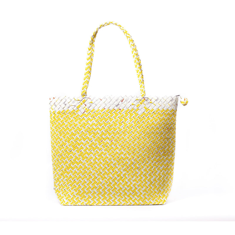 Mother Erth Limited Edition - Yellow Woven Shoulder Bag Bags Mother Erth