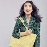 Mother Erth Limited Edition - Yellow Woven Tote Bags Mother Erth-12777053618239