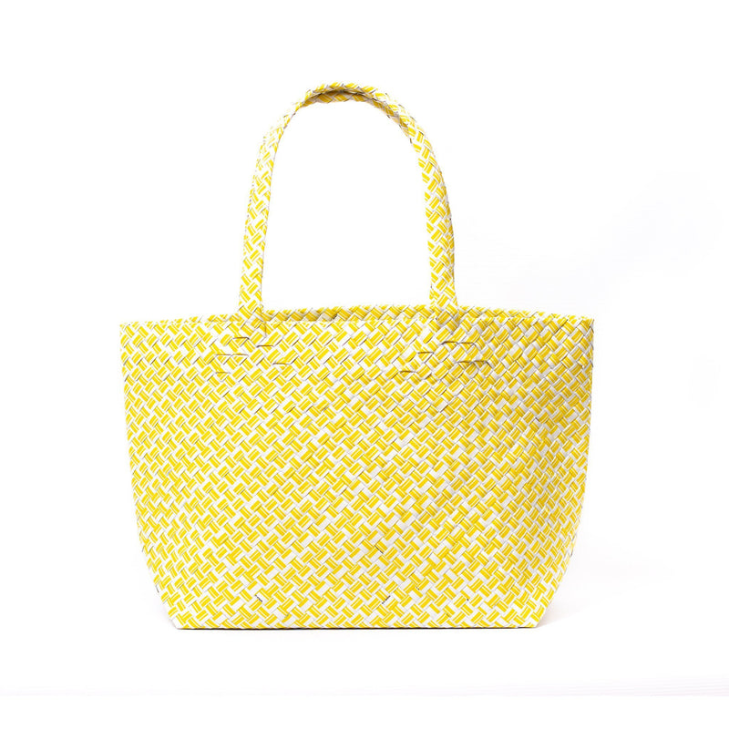 Mother Erth Limited Edition - Yellow Woven Tote Bags Mother Erth