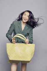 Mother Erth Limited Edition - Yellow Woven Tote Bags Mother Erth-12777032745023