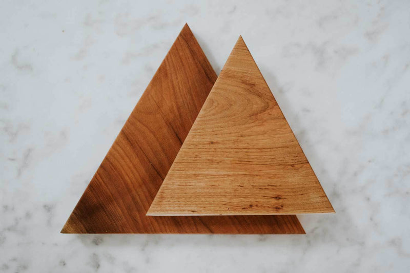 Newly Goods Tria Serving Board Wood Newly Goods Set of Both - $106