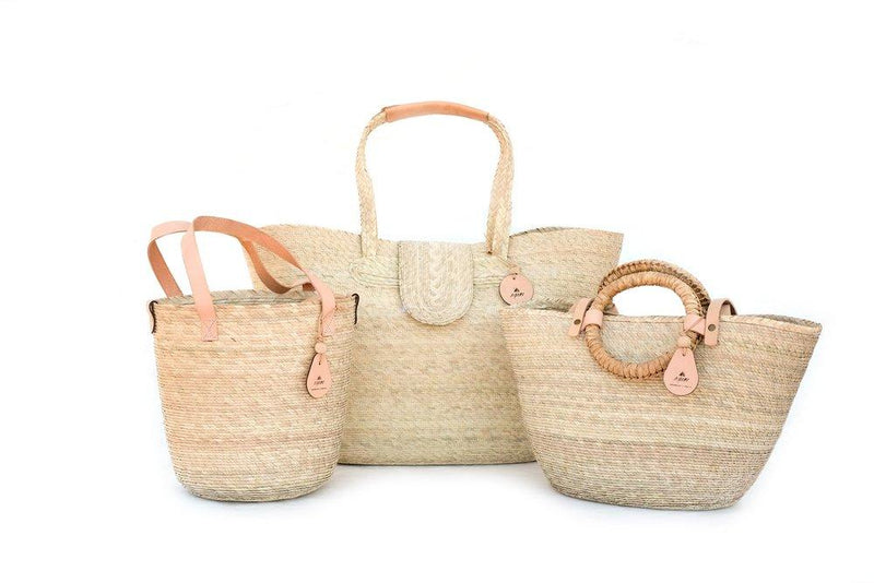 Nipomo Mercado Collection - Basket Canasta Tote Nipomo