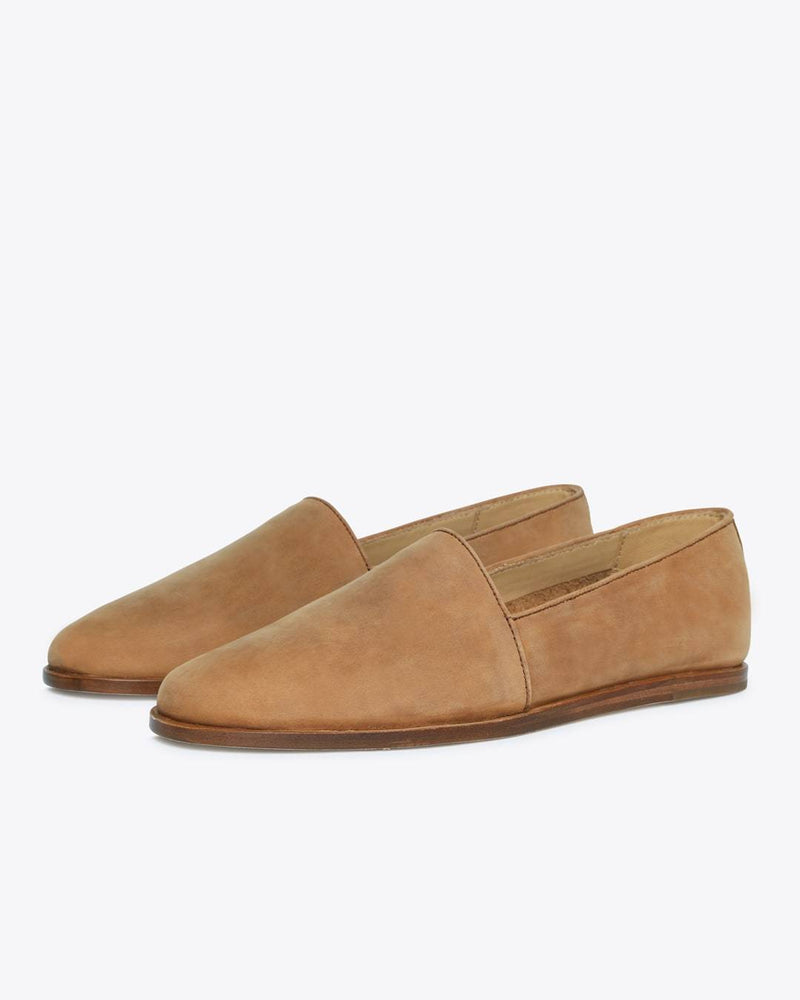 Nisolo Alejandro Slip on Tobacco Men's Leather Slip On Nisolo