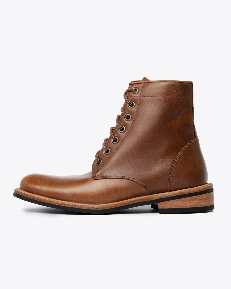 Nisolo Amalia All Weather Boot Brown Women's Leather Boot Nisolo