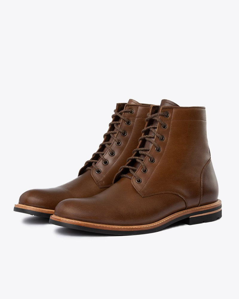 Nisolo Andres All Weather Boot Brown Men's Leather Boot Nisolo