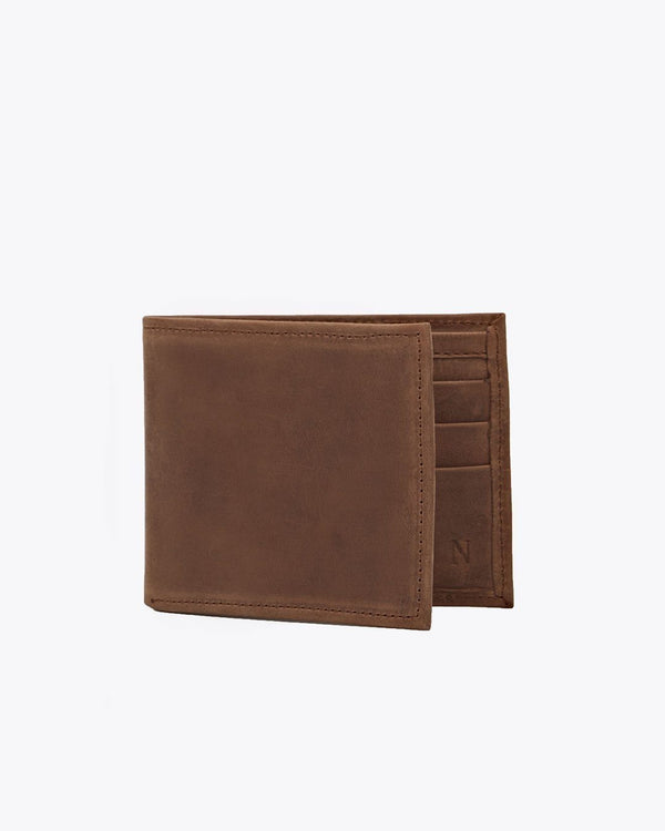 Nisolo Brewer Wallet Tobacco Men's Wallet Nisolo