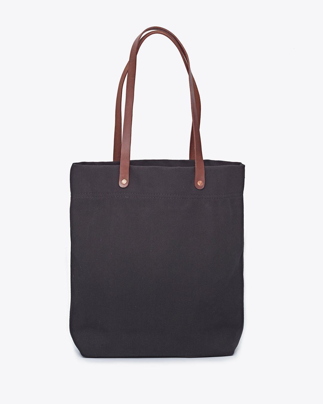 545baacfaf7 Nisolo Canvas Tote Black