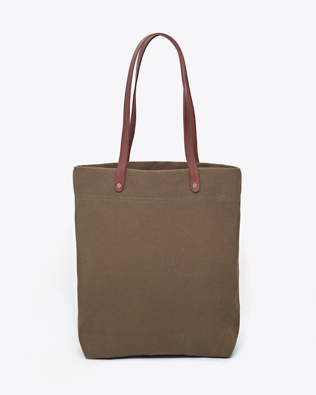 Nisolo Canvas Tote Olive Green Canvas Bag Nisolo
