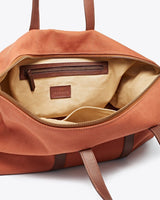 Nisolo Canvas Weekender Amber Canvas Bag Nisolo-5009507549247