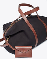 Nisolo Canvas Weekender Black Canvas Bag Nisolo-5010456870975