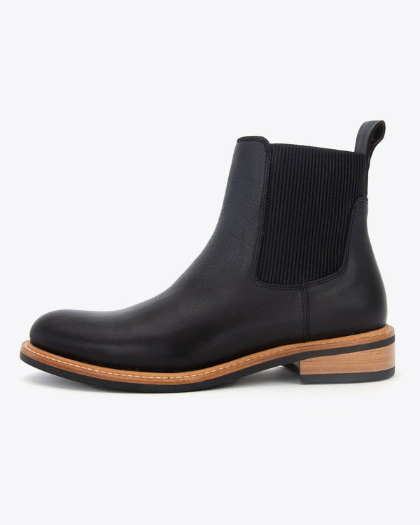 Nisolo Carmen Chelsea Boot Black Women's Leather Boot Nisolo