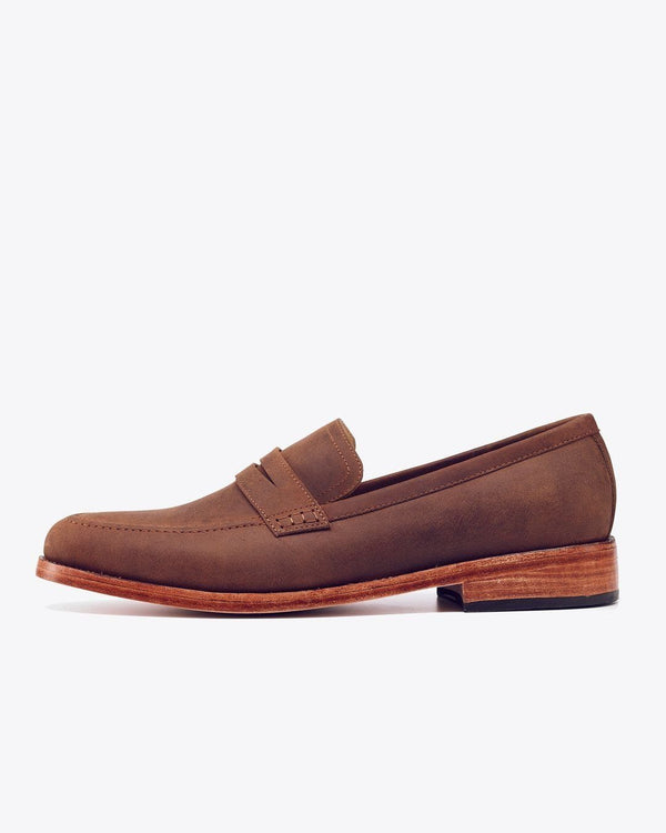 Nisolo Chamberlain Penny Loafer Oak Men's Leather Loafer Nisolo