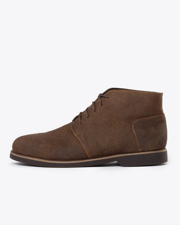 Nisolo Chavito Chukka Boot Waxed Brown Men's Leather Chukka Boot Nisolo