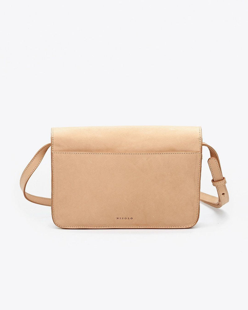 Nisolo Clara Crossbody Purse Natural Vachetta Cross Body Bag Nisolo