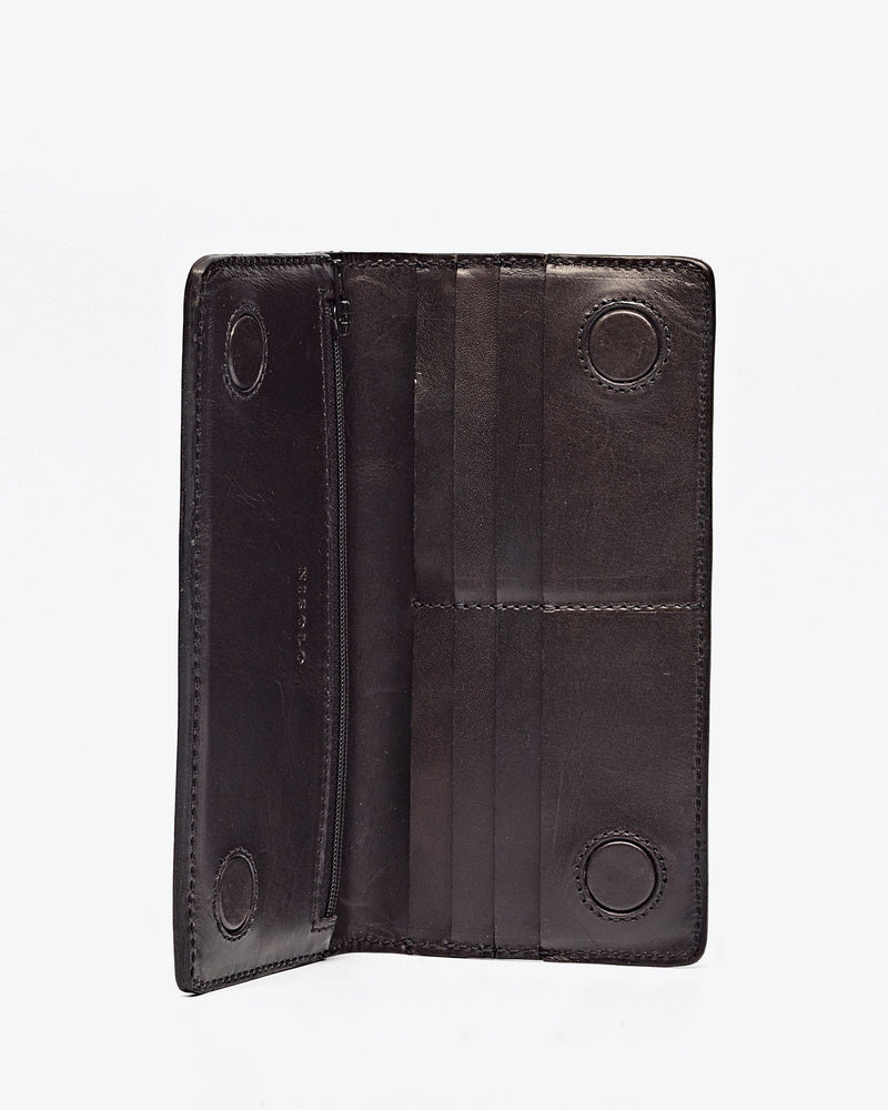 Nisolo Classic Wallet Black Leather goods Nisolo