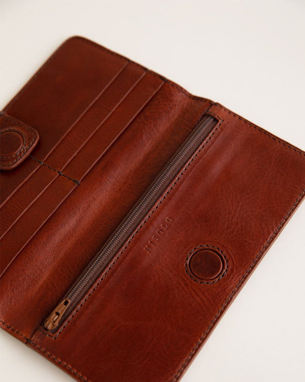 Nisolo Classic Wallet Rosewood Women's Leather Wallet Nisolo