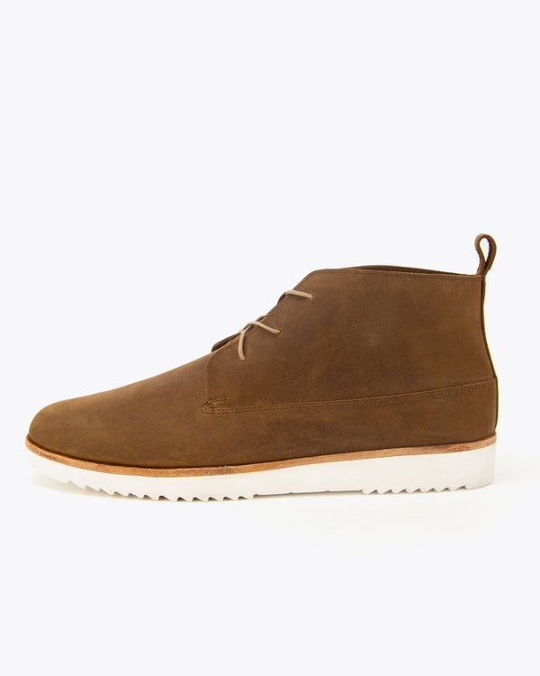 Nisolo Cusco Flex Chukka Tobacco Men's Leather Chukka Boot Nisolo