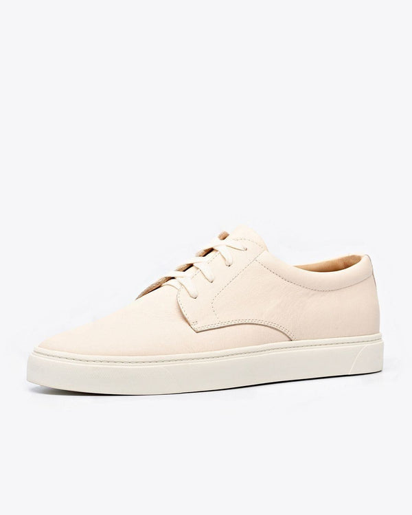 Nisolo Diego Low Top Sneaker Bone Men's Leather Sneaker Nisolo