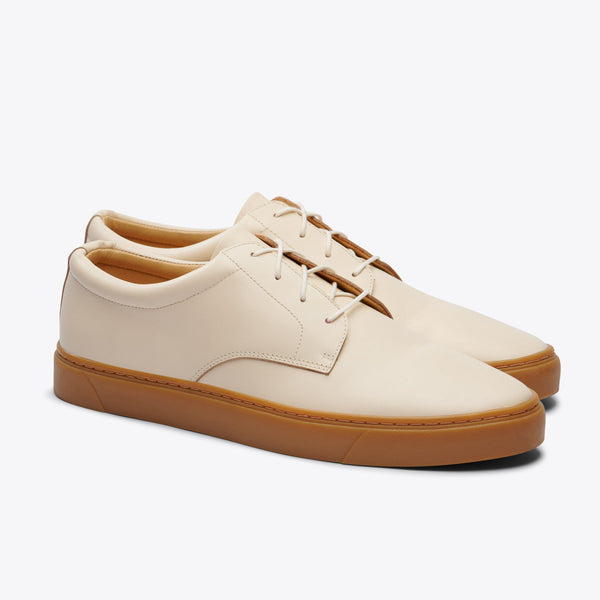 Nisolo Diego Low Top Sneaker Bone/Gum Men's Leather Sneaker Nisolo