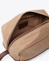 Nisolo Durango Dopp Kit Waxed Canvas Leather goods Nisolo-5010153799743