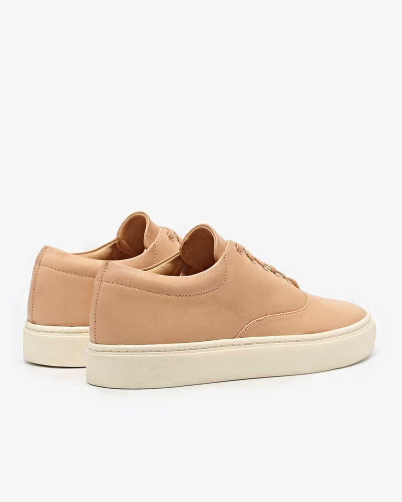 Nisolo Elayna Sneaker Natural Vachetta Women's Leather Sneaker Nisolo