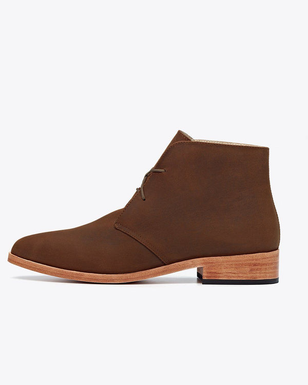 Nisolo Isa Boot Oak Women's Leather Chukka Boot Nisolo