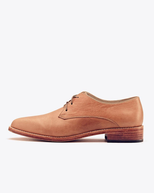 Nisolo James Oxford Almond Women's Leather Oxford Nisolo