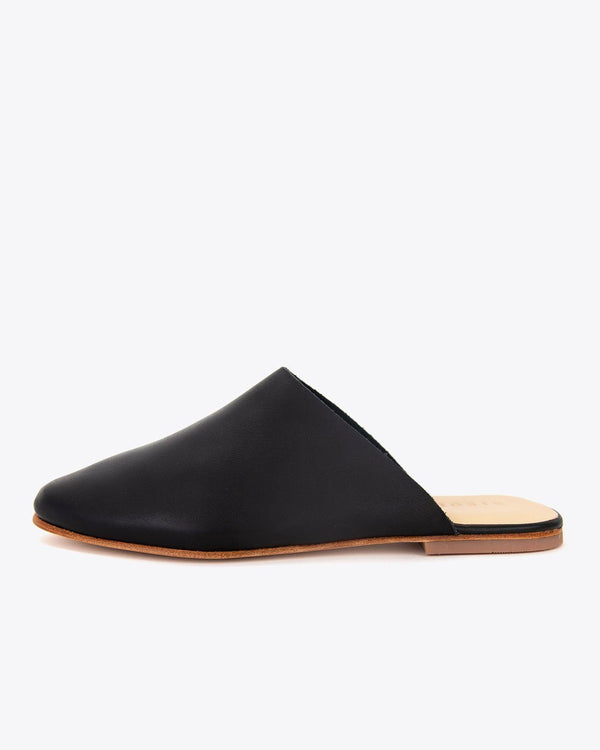Nisolo Lima Slip On Black Women's Leather Slip On Nisolo