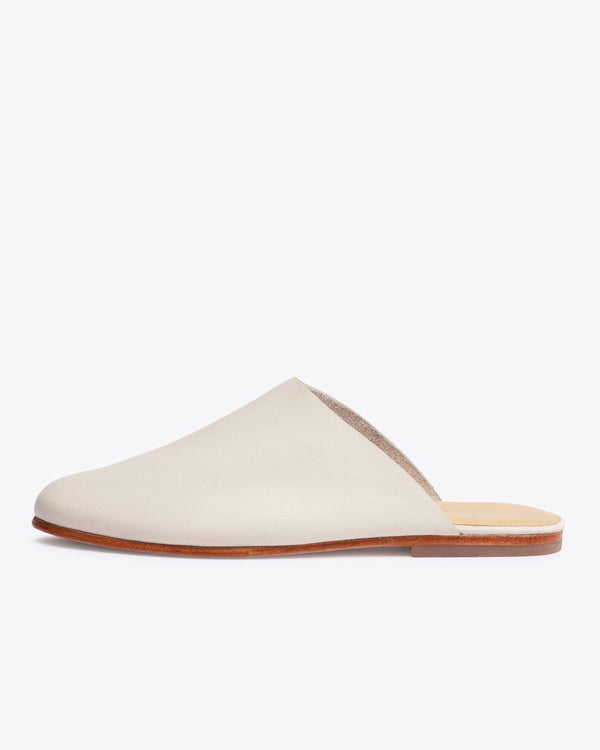 Nisolo Lima Slip On Bone Women's Leather Slip On Nisolo