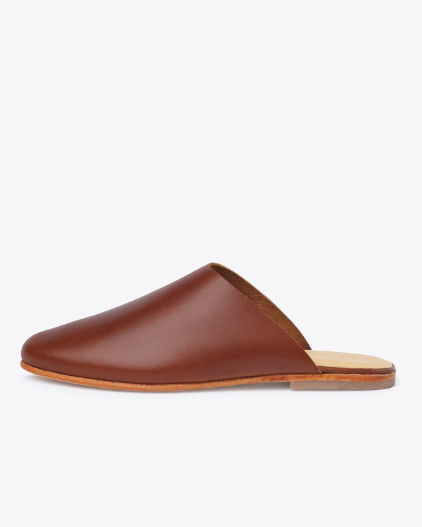 Nisolo Lima Slip On Brandy Women's Leather Slip On Nisolo