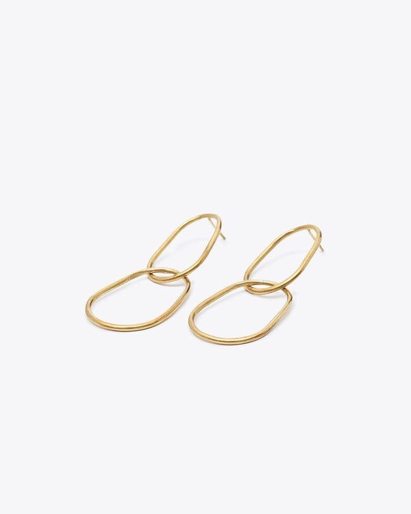 Nisolo Link Earrings Jewelry Nisolo