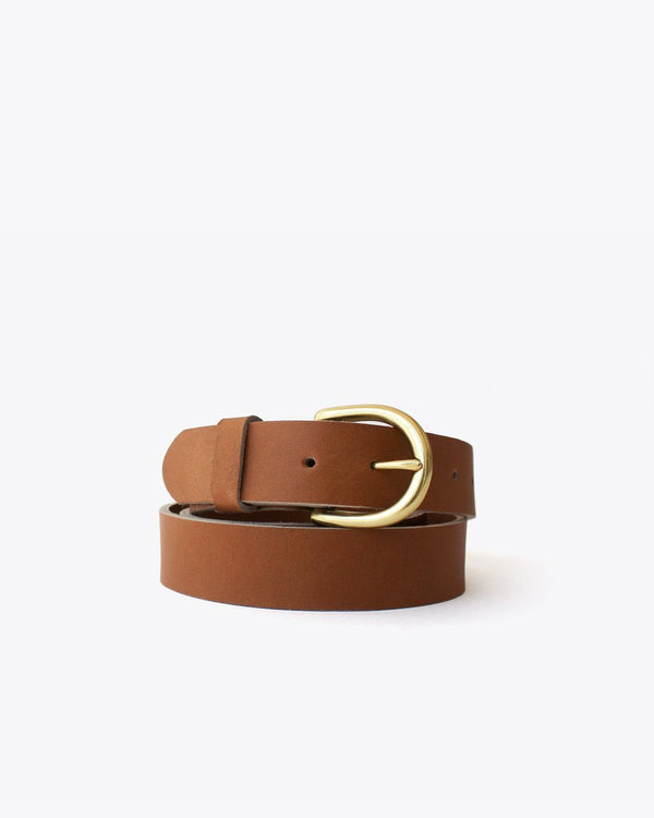 Nisolo Noemi Belt Almond Leather Belt Nisolo