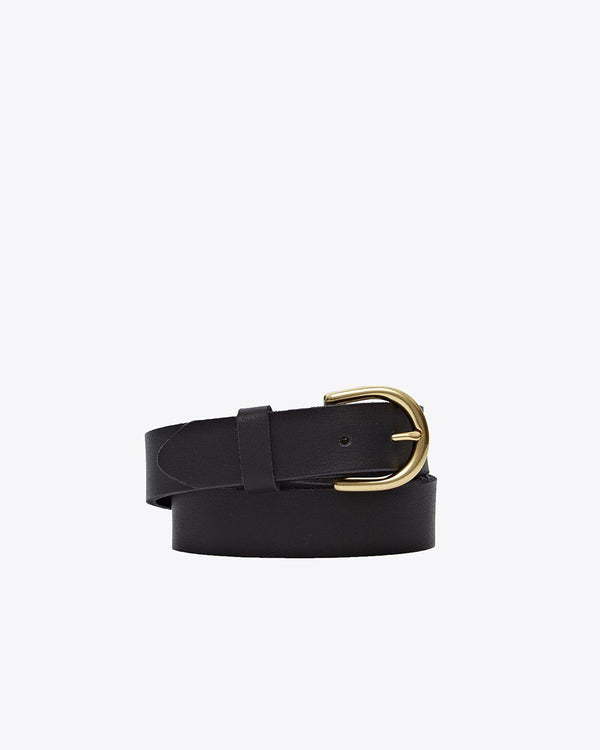 Nisolo Noemi Belt Black Leather Belt Nisolo