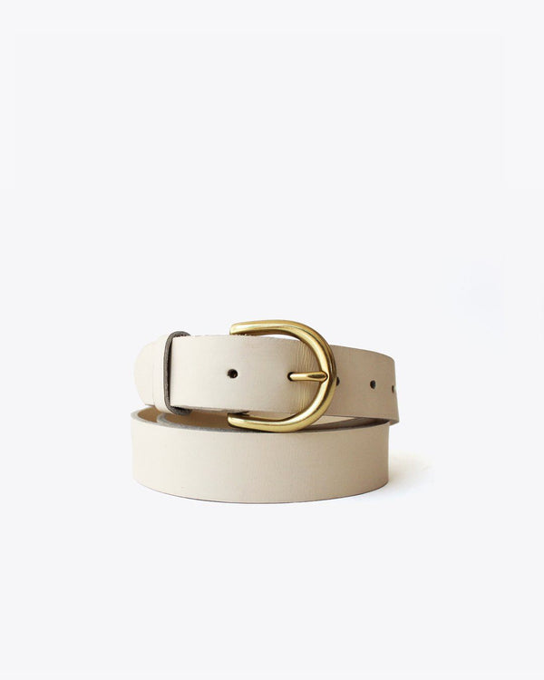Nisolo Noemi Belt Bone Leather Belt Nisolo