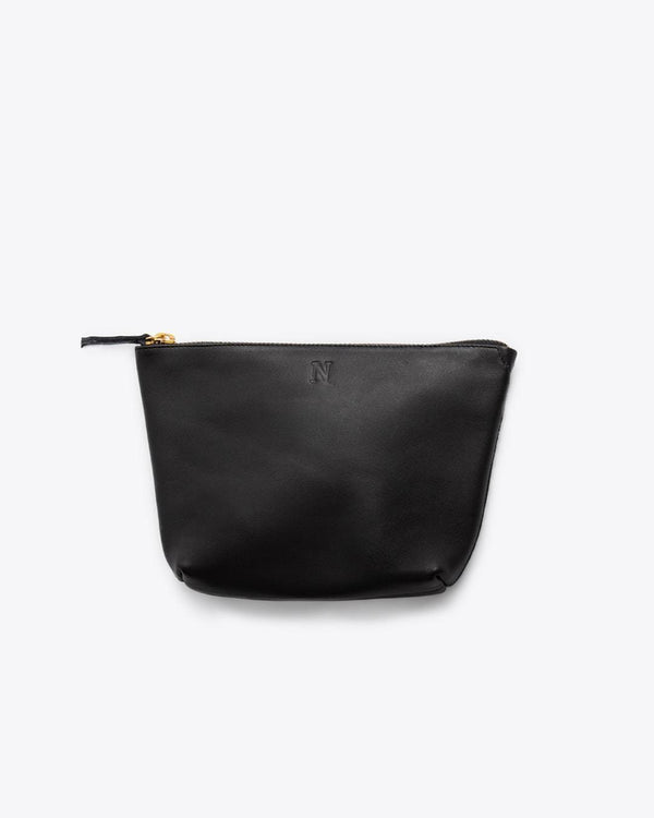 Nisolo Rosa Pouch Black Leather Clutch Nisolo